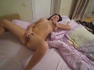 Mom Busted masturbating by son