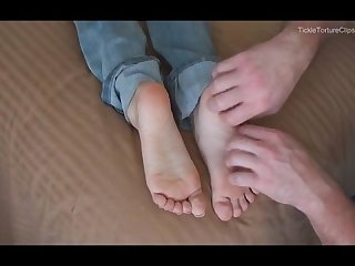 Renes soft little feet tickled