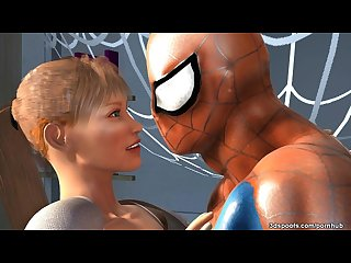 Mary j s tight juicy teen pussy gets drilled by spidey s cock