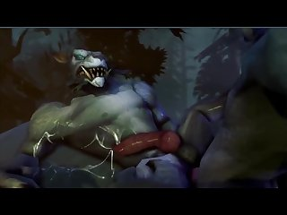 Sfm monster porn Xxx gay gay furry yiff animated by ictonica