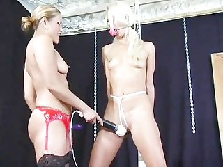 Bondage bitch interviews scene 2