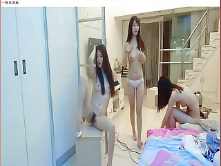 Three chinese girl