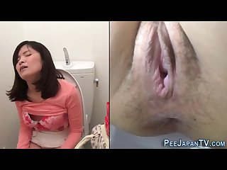 Japanese Toilet cam masturbation