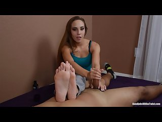 Sasha foxxx handjob and feet