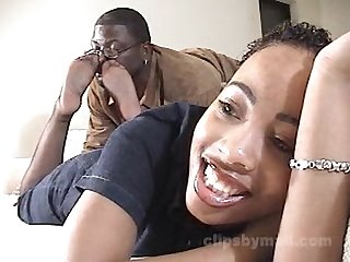 Ebony pantyhose feet Tickling
