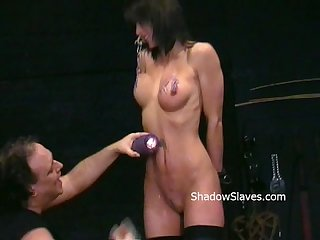 Busty danii blacks kinky tit tortures and extreme nipple stretching and hot