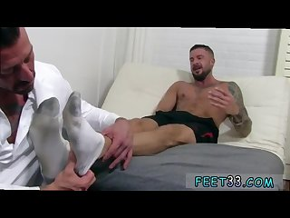 Sexy gay dolf s foot doctor hugh hunter