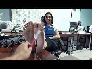 Looking at latina soles