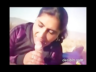 Indian girl sucks but doesn t swallow