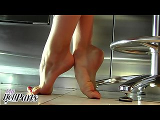 Kayla jane s breathtaking bare feet custom video