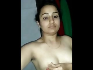 Hot Desi girl showing boobs pussy and mastrubating
