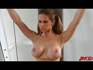 Rachel roxxx fucked after workout