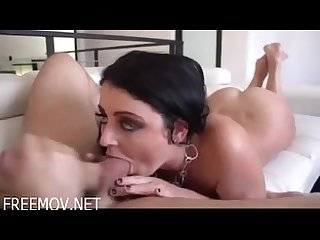 Sophie dee foot job and ball sucking