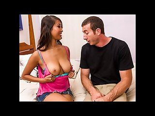 Sexy french speaking exchange student Sharon lee is fucked hard