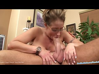 Eva notty s very 1st swallowing scene