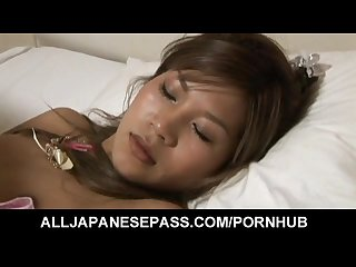 Junna kawai has tits sucked and dark twat fucked while Sleeping
