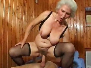 Grandma likes being on top for sex tweeds