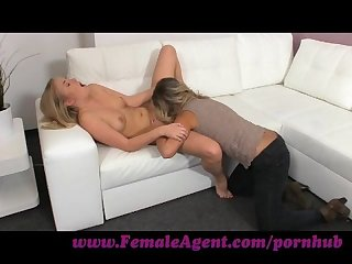 Femaleagent hot 18yr old receives her first ever orgasm