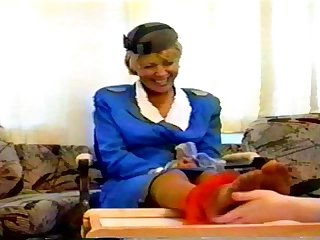 Solefully yours the flight attendant