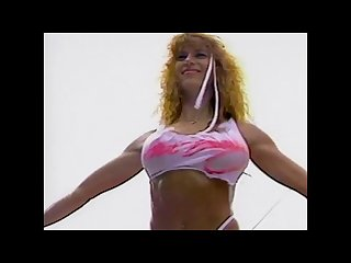 Julie blaze fulkerson smoking hot 90s bikini contest girl music video