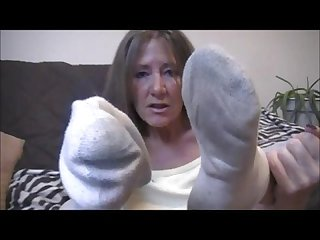 Mature dirty socks pov