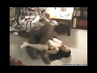 Horny asian wife gets her first bbc