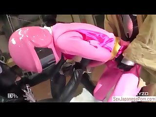 Three female superheroes jav brave pink galaxy