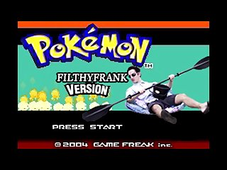 Pokemon filthy frank version