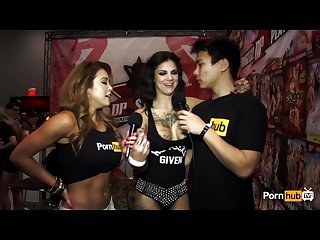 Pornhubtv bonnie rotten interview at 2015 avn awards