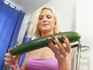 The cucumber always goes first