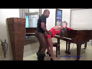 Piano lesson milf seduces bbc instructor