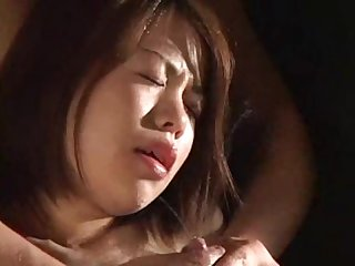 Japanese milk maid squirting facial
