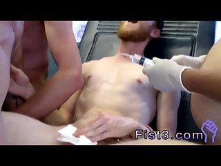 Men getting fist fucked gay first time first time saline injection for
