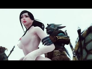 Monster hentai the riekling tribe S fury Skyrim