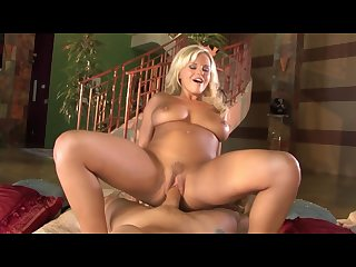 Bree olson rides cock hard like a nasty little whore