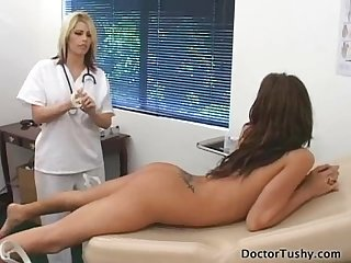 Doctor visit for hot teen