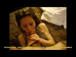 Hookup slut fucks some guy in cheap hotel room