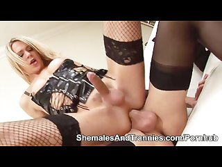 Stockinged shemales karla coxx gets fucked by zoe fuckpuppet