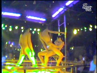 Thai bangkok live show stage fuck gay hot