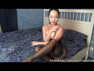 Hot asian amateur pornbabetyra tease and denial