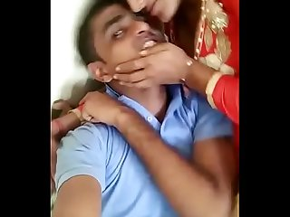 Indian gf fucking with bf in field