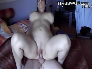gorgeous fat girlfriend hardly sex with husband friend