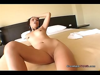 Shoot your spunk inside my horny Thai pussy