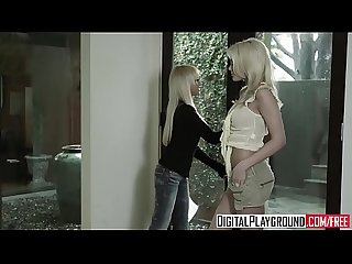Two blonde lesbians (Breanne Benson, Riley Steele) love pussy - Digital Playground