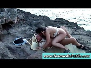 Public amateurs outdoor fucking
