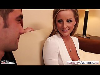 Milf in high heels Melissa matthews gets fucked and facialized