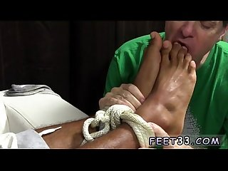 College boy foot fetish gay mikey tied up worshiped