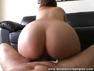 Cali rider pornstar on amateur creampies