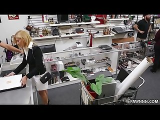 Blonde MILF Banged in the PawnShop - XXX Pawn