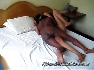 Light skinned African moans like a whore as her coochie gets drilleddroom2-1-2